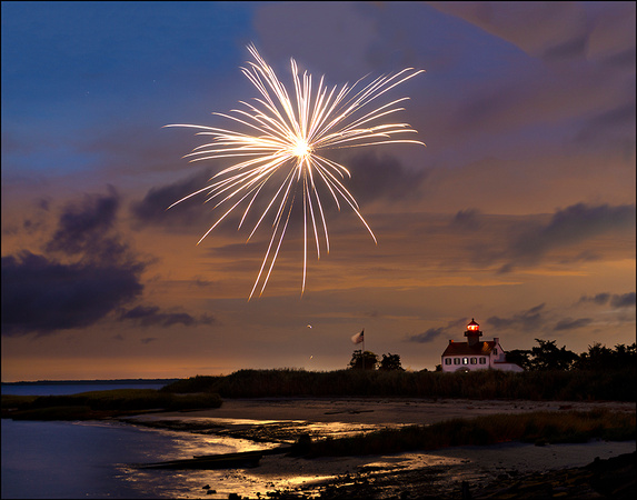 The 4th at East Point Lighthouse #2
